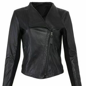 NWT Cleo Mackage Leathet Jacket M